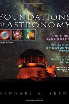 Foundations of Astronomy book cover