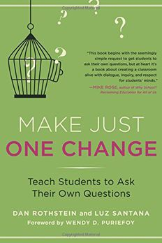 Make Just One Change book cover