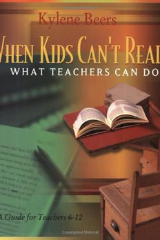 When Kids Can't Read book cover