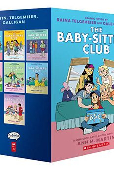 The Baby-Sitters Club Graphic Novels #1-7 book cover