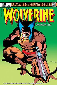 Wolverine (1982) #4 book cover