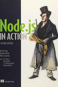 Node.js in Action book cover
