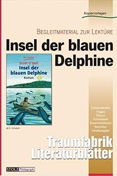 Insel der blauen Delphine - Literaturblätter book cover