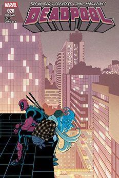 Deadpool #20 book cover