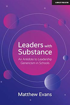 Leaders With Substance book cover