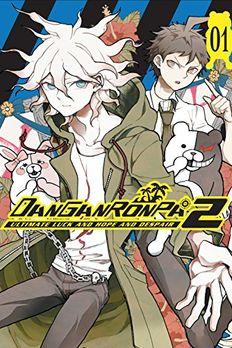 Danganronpa 2 book cover