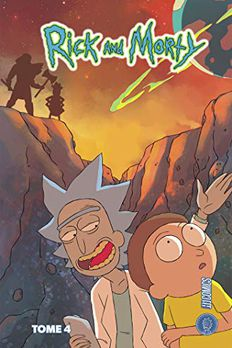 Rick & Morty book cover