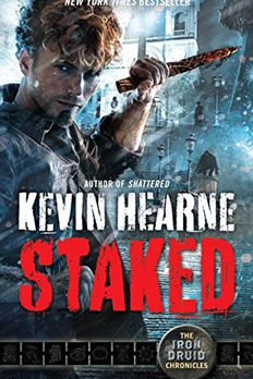 Staked book cover