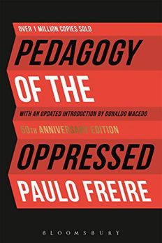 Pedagogy of the Oppressed book cover