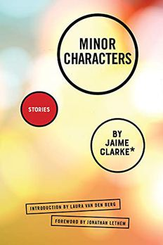 Minor Characters book cover
