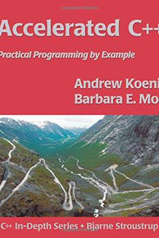 Accelerated C++ book cover