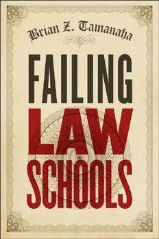 Failing Law Schools book cover