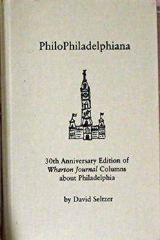 PhiloPhiladelphiana book cover