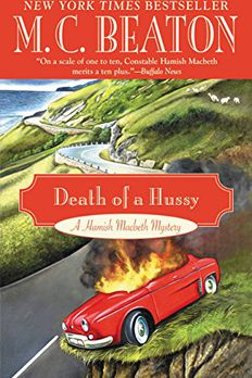 Death of a Hussy book cover