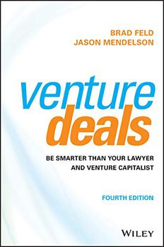 Venture Deals book cover