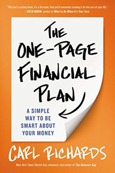 The One-Page Financial Plan book cover