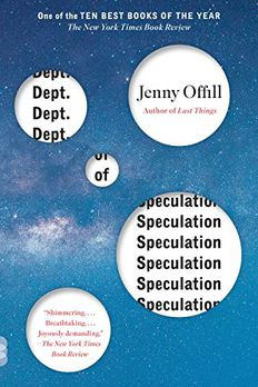 Dept. of Speculation book cover