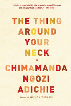 The Thing Around Your Neck book cover