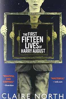 The First Fifteen Lives of Harry August book cover