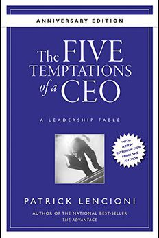 The Five Temptations of a CEO,  Anniversary Edition book cover