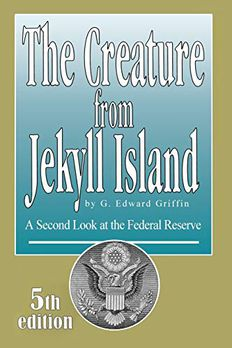 The Creature from Jekyll Island book cover