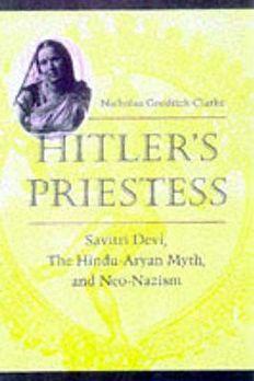 Hitler's Priestess book cover