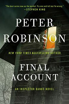 Final Account book cover