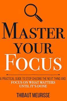 Master Your Focus book cover
