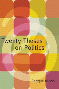 Twenty Theses on Politics book cover