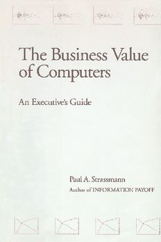 The Business Value of Computers book cover