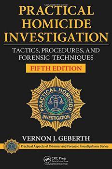 Practical Homicide Investigation book cover