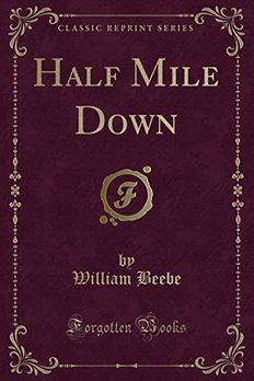 Half Mile Down book cover