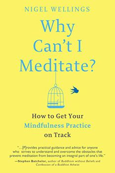Why Can't I Meditate? book cover