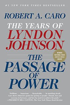 The Passage of Power book cover
