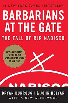 Barbarians at the Gate book cover