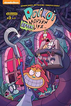 Rocko's Modern Afterlife #3 book cover