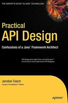 Practical API Design book cover