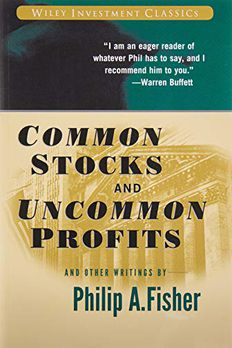 Common Stocks and Uncommon Profits and Other Writings book cover