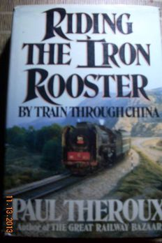 Riding the Iron Rooster book cover