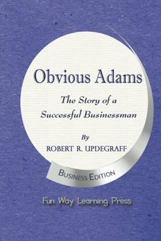 Obvious Adams book cover