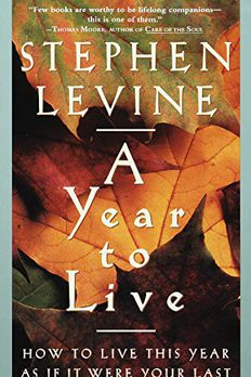 A Year to Live book cover