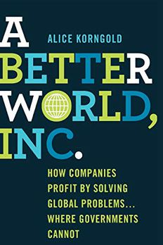 A Better World, Inc. book cover