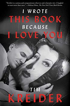 I Wrote This Book Because I Love You book cover