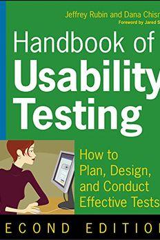 Handbook of Usability Testing book cover