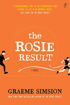 The Rosie Result book cover