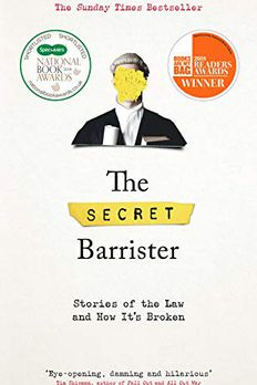 The Secret Barrister book cover