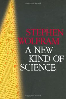 A New Kind of Science book cover