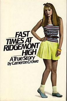 Fast Times at Ridgemont High  book cover