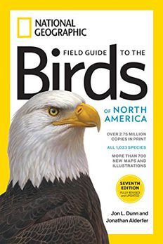 National Geographic Field Guide to the Birds of North America book cover