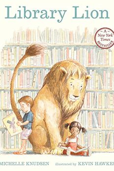 Library Lion book cover